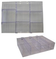 Acrylic Organiser Tray - Medium.X